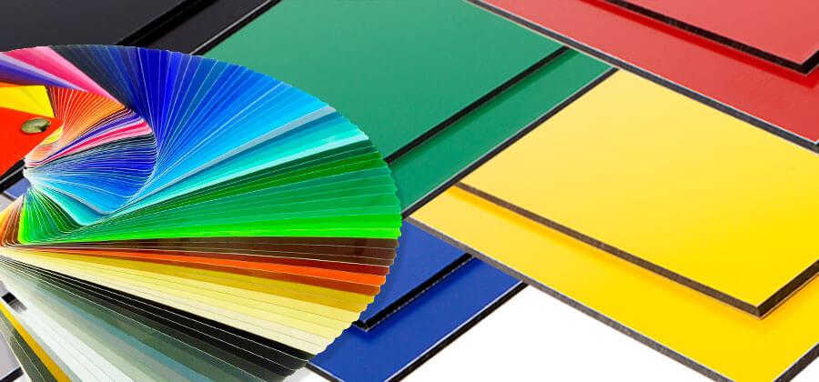 Farbige Kunststoffplatten von S-Polytec