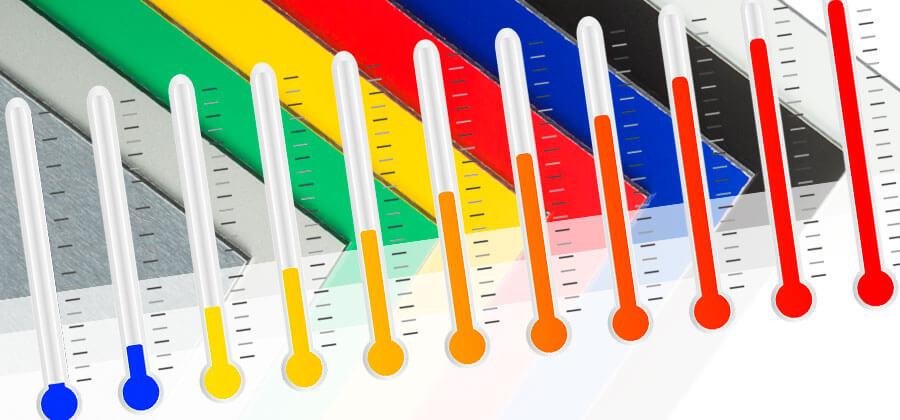 Temperatureinsatzbereiche von Kunststoffen