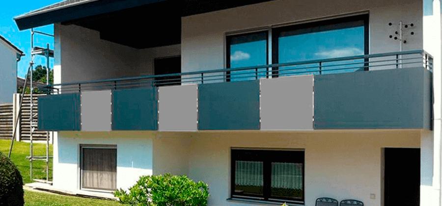HPL-PLatten als Balkonumrandung in 3 einfachen Schritten erklärt