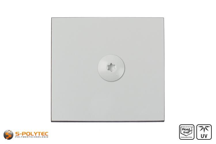 HPL Platte RAL 7035 im Zuschnitt (schwer entflammbar, ETB-Zulassung)