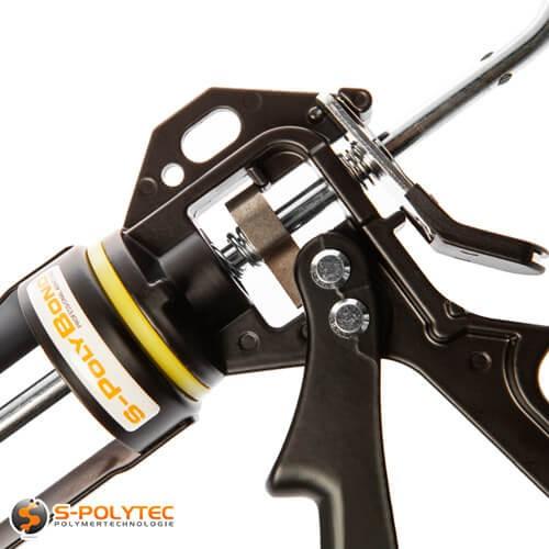 S-Polybond Silikonpistole mit einem hohen Übersetzungsverhältnis von 18:1