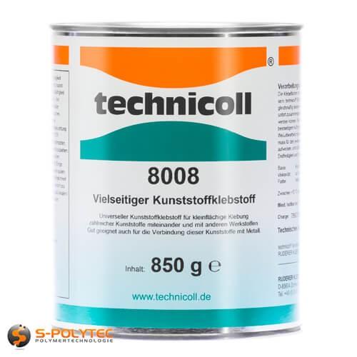 Universeller Kunststoffklebstoff Technicoll 8008 850gramm Dose