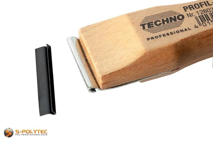 Ersatzklinge in 35mm Breite für unsren Techno Professional Profilschaber