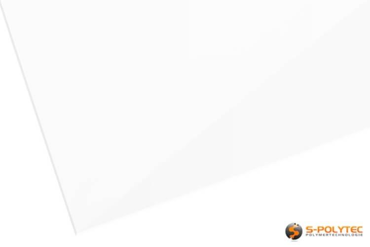 Unsere Dekorplatten in weiß mit 3mm Stärke im Zuschnitt