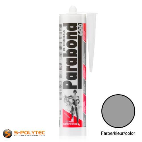 MS-Polymer Parabond 600 grau ist ein Montagekleber mit enormer Anfangshaftung