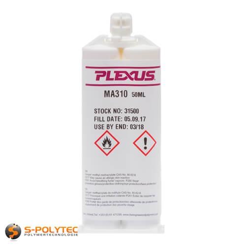 2-Komponenten Acrylat-Klebstoff Plexus MA310 für das Verkleben von Thermoplasten untereinander