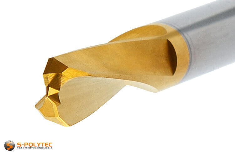 HPL-Bohrer 6mm mit Zentrierspitze und spezieller Bohrkopfgemometrie