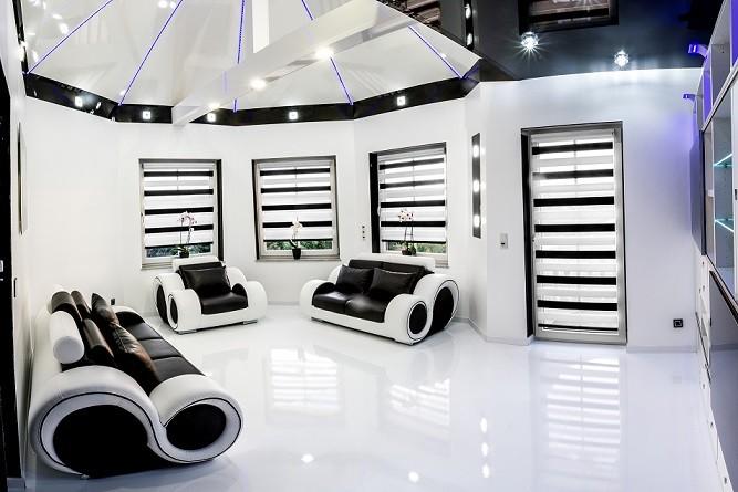 Wohnzimmer gestaltet mit DecoVitas