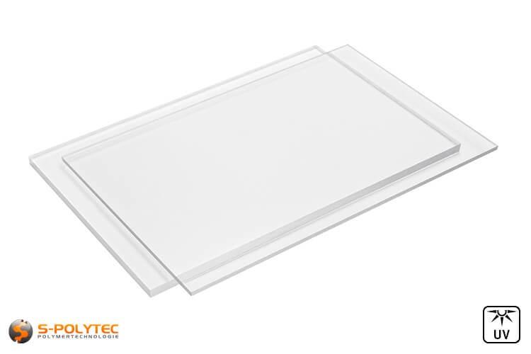 PC transparent Platten im Zuschnitt in Stärken von 3mm bis 8mm - Detailansicht