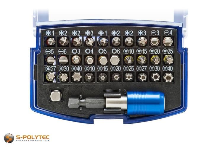 Werkzeug-Bit Set für alle gängen Schrauben (Phillips, Pozidriv, Torx, Torx-TR, Inbus)