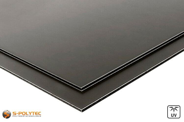 Aluverbundplatten (RAL 7016) Anthrazit günstig im Zuschnitt auf Maß kaufen - Detailansicht