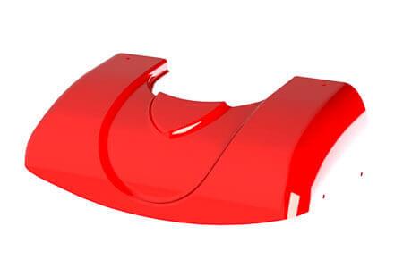 Beispiel eines Tiefziehteils aus Kunststoffplatten von der Firma S-Polytec