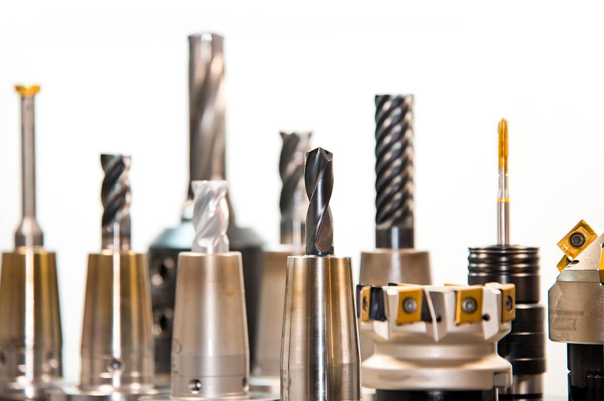 Fräsköpfe für das Herstellen individueller Frästeile aus Kunststoff von S-Polytec